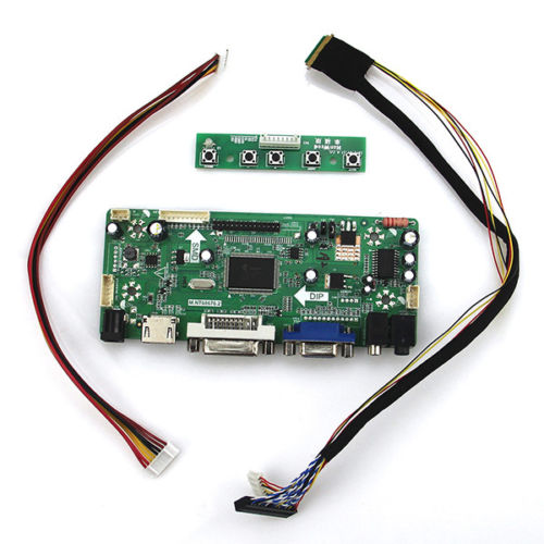 Latumab New HDMI+DVI+VGA LCD Controller Driver Board Monitor Kit For M101NWT2 R2 Free Shipping