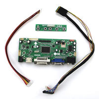 Latumab New HDMI+DVI+VGA LCD Controller Driver Board Monitor Kit for M101NWT2 R2 Free shipping