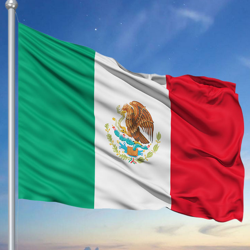 Polyester Mexican Flag 150x90cm Car Home Decoration Country Indoor Outdoor Banner Hanging Mexico Flags Decor Accessories-in Flags. Banners ...
