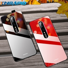 Glossy Acrylic Case For Oneplus 7 Pro Phone Case Soft TPU Silicone Frame Hard PC Back Cover For One plus 7pro Case