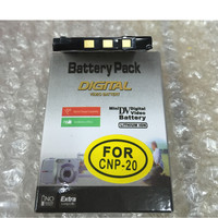 NP 20 CNP20 Lithium Battery NP20 Digital Camera Battery For CASIO Exilim EX M20 S100 S20