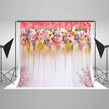 Kate 10X20FT Pink Wedding Floower Photography Backgrounds Cotton Studio Photo Background Stage Camera Fotografica Profissional