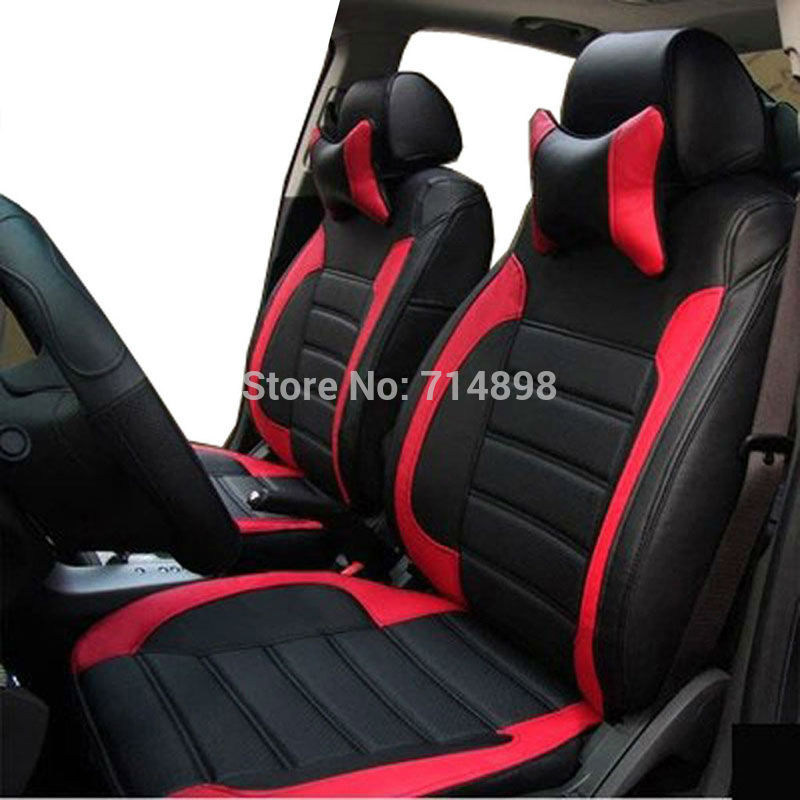 Online Shop Carnong Car seat cover leather for ford fiesta focus fox mondeo maverick s-max ecosport escape edge proper fit auto seat cover | Aliexpress ... & Online Shop Carnong Car seat cover leather for ford fiesta focus ... markmcfarlin.com