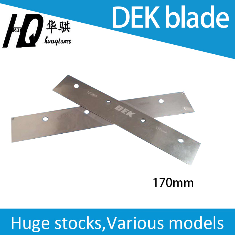 DEK Stencil Printer Squeegee Blade 170mm 200mm 250mm 300mm 350mm 400mm SMT Spare Parts, Squeegees Assy With Holder