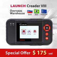 LAUNCH X431 Creader VIII Code Reader Scanner Support ENG/AT/ABS/SRS + EPB SAS Oil resets function Creader 8 same as CRP129
