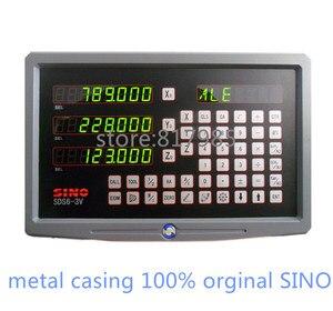 Image 1 - HOT! SINOอ่านข้อมูลดิจิตอลปลอกโลหะDRO SDS6 3V + 5ไมครอนเข้ารหัสเชิงเส้นKA300ขนาดเชิงเส้น