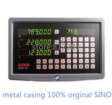 HOT! SINO cyfrowy odczyt metalowa obudowa DRO SDS6 3V + 5 mikronów enkoder liniowy KA300 skala liniowa