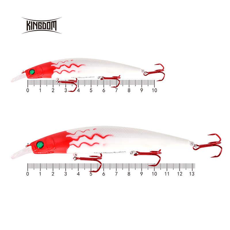 Unito 128mm 23.5g/90mm 10g Esche Da Pesca Artificiale Corpo Duro Minnow Commutabile Lilps Artificiale Per mare Basso Modello 5358