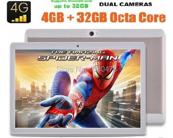 DHL Free 10 inch 1920 1200 Octa core Tablet PC 4G RAM 64GB ROM Dual SIM