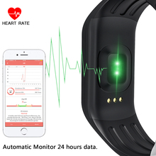 Beautiful Fitness Tracker Heart Rate Monitor digital Watch Activity Monitor Wristband for Men & Women Bracelet Bluetooth