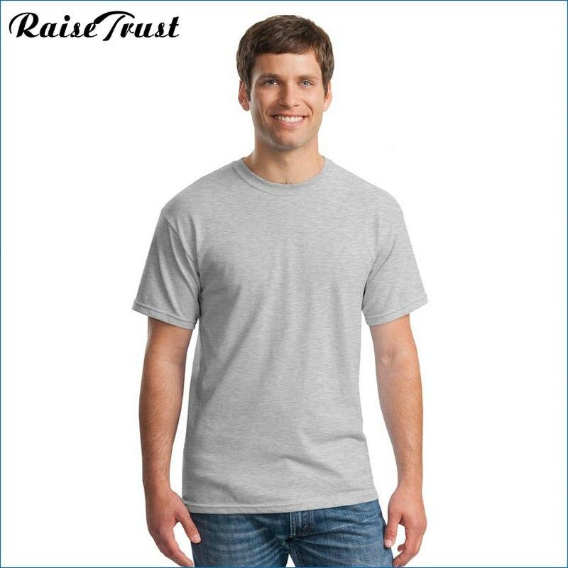 2019 Yeni Katı renk T Gömlek yaz Erkekler t gömlek kısa kollu - Erkek Giyim - Fotoğraf 3