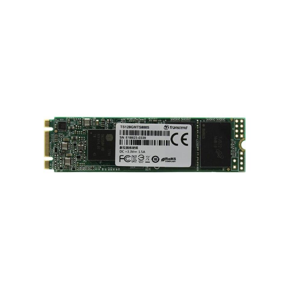 Купить со скидкой Внутренний жесткий диск SSD MTS800S  Transcend TS128GMTS800S 128ГБ