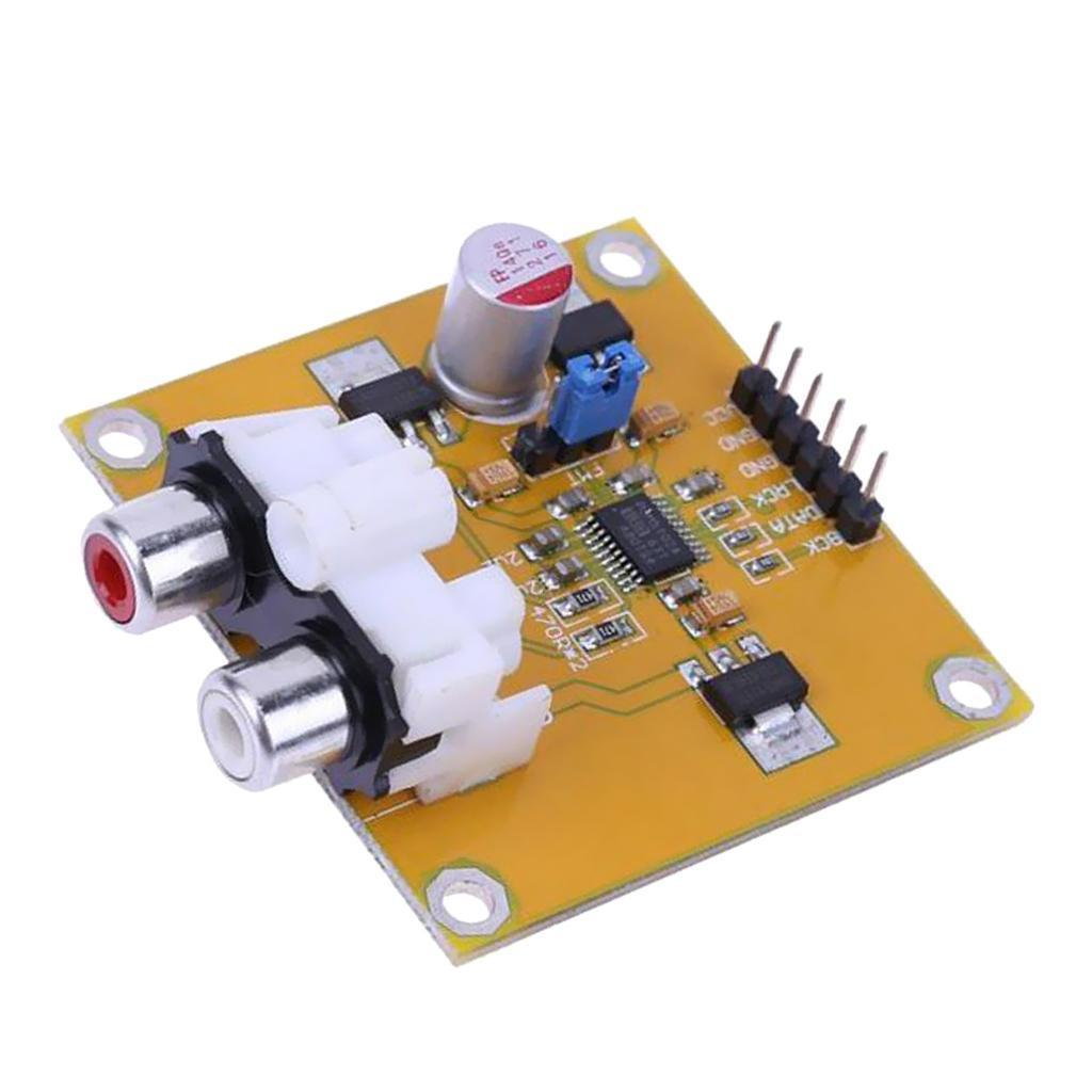 Digital-analog-wandler Ak4493 Dac Decoder Board Digital Broadcast Netzwerk Player Für Raspberry Pi Dekodierung Zu I2s 32bit 384 Khz Dsd128