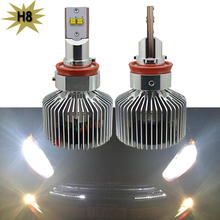 2x H4 H7 H13 H11 9005 9006 Lumileds LED Headlight 90W 9000LM H10 9145 Car LED Headlights Bulb Head Lamp Fog Light White 6000K
