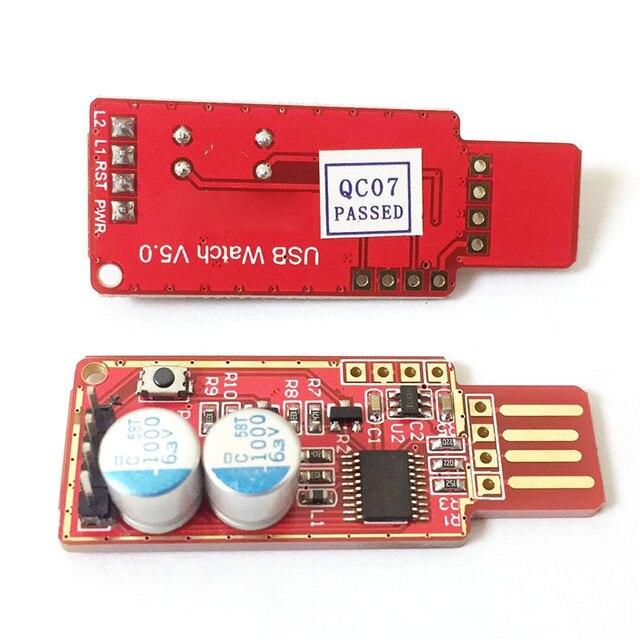 Novo Cartão USB Watchdog/Autônoma de Reinício Automático Tela Azul Bater/Mineração/Jogo/LTC BTC Mineiro QJY99