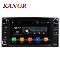 KANOR Octa Core Android 8,0 4g 2din видео плеер для автомобиля Toyota Corolla Camry Fortunner RAV4 Landcruiser фортунер Прадо Avanza
