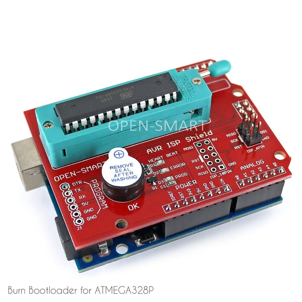 AVR ISP skydas deginantis įkrovos kaupiklio programuotojas - Pramoniniai kompiuteriai ir priedai - Nuotrauka 5