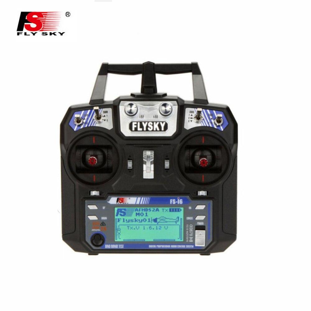 Flysky FS-I6 FS I6 2,4 GHz 6CH RC Sender Controller FS-IA6 Mit LCD Display Für RC Flugzeug Modelle Quadcopter Segelflugzeug drone