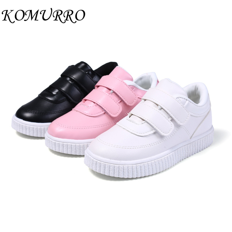Children Casual Shoes Leather Girls Sport Shoes For Boys Sneakers Child Toddler School Shoes Boys Brand Kids Sneakers For Girls