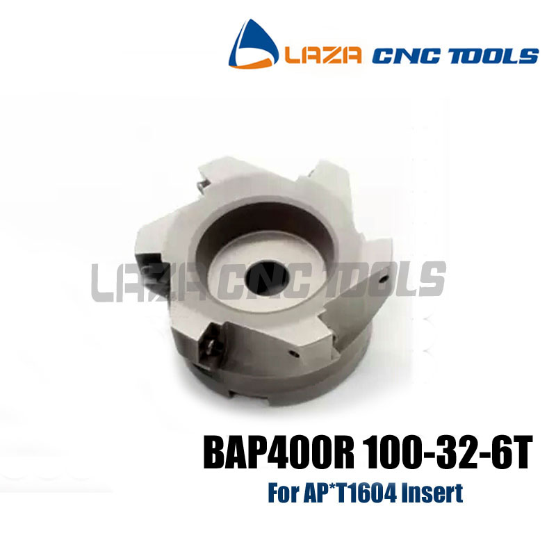 Free Shipping BAP400R 100 32 6T Face Mill Shoulder Cutter For Milling Machine BAP400R Milling Cutter