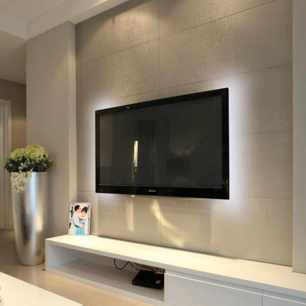 Usb'li şerit LED lamba 2835SMD DC5V Esnek LED ışıklı bant Şerit 1M 2M 3M 4M 5M HDTV TV masaüstü Ekran Arka Plan Önyargı aydınlatma