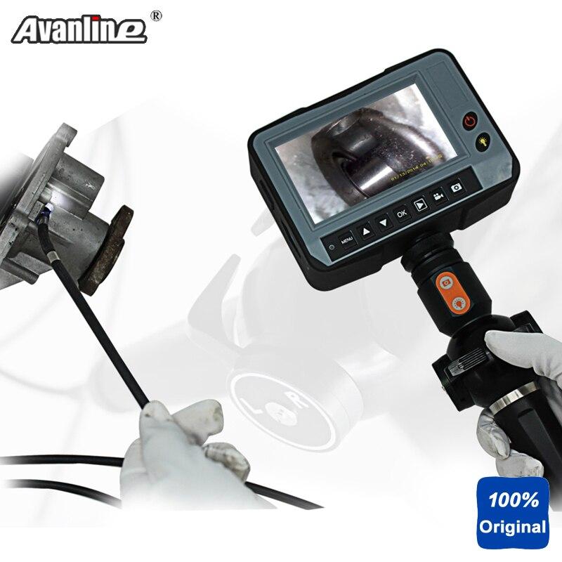 Werkzeuge Kenntnisreich Wasserdichte Od 4,0mm Industrie Video Endoskop 4,3 lcd 2way Richtung Inspektionskamera Industrielle Endoskop 1,5 Mt Schlange Dr4540t1 Angenehme SüßE Endoskope