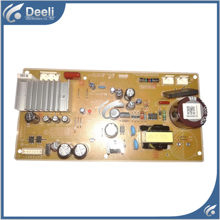 100% new good working for refrigerator computer board power module DA92-00215A board 95% new for haier refrigerator computer board circuit board bcd 198k 0064000619 driver board good working