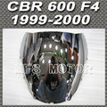 Nuevo Para Honda CBR 600 F4 1999 2000 99 00 Parabrisas/Parabrisas Plata Motocicleta Parte