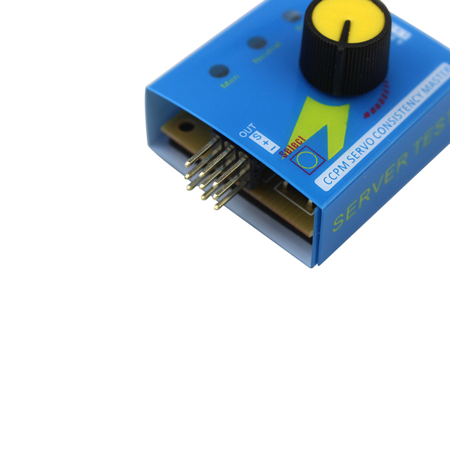 Servo Tester Gear Test CCPM Consistency Master Checker 3CH 4.8-6V with Indicator Light