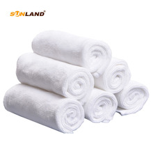Sinland Microfiber Towel Ultra Soft Brushed Magic Baby Face and Hand Towel Washcloths 12 inch x 12 inch 6 Pieces