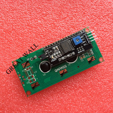 10PCS/LOT LCD1602+I2C 1602 Serial Blue Backlight LCD Display For Arduino 2560 UNO AVR IIC/I2C