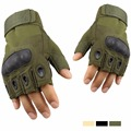 Military Tactical Gloves For Men Paintball Shooting Army Gloves Outdoor Sports fingerless Anti-skid Men's guantes gym Gloves