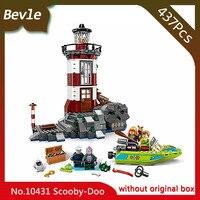 Bela 10431 437pcs Scooby Doo Series Haunted Lighthouse Model Building Blocks Set Bricks Compatible Legoe LEPIN