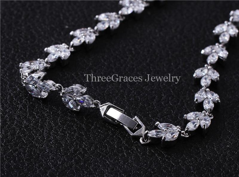 Aliexpresscom Buy ThreeGraces Luxury Bridal Jewelry Set Royal
