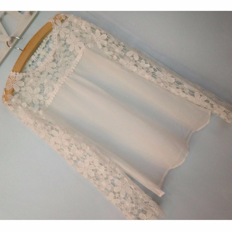 HTB1NIgNLVXXXXaMXFXXq6xXFXXXA - Autumn Elegant Women White Lace Blouses Floral