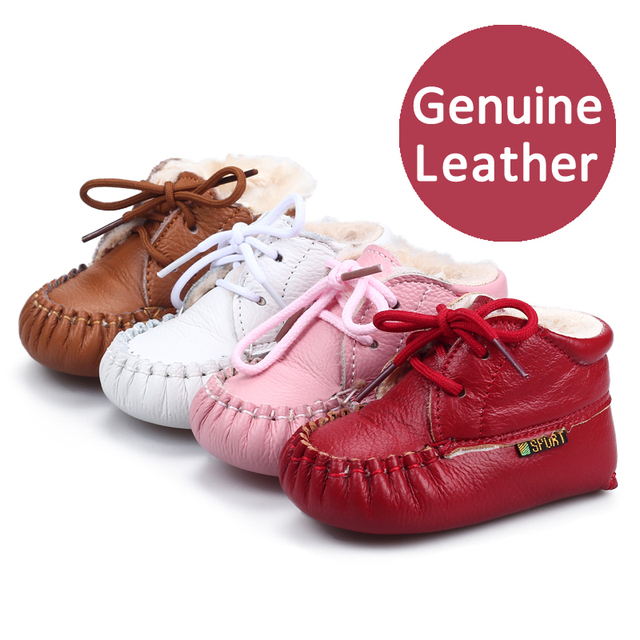 Baby shoes 100% genuine leather baby shoes soft cotton newborn infant children shoes toddler shoes First Walkers 0-1 year old