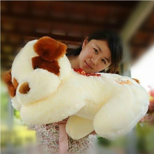 1pc 50cm Plush Lie Dog Toy Staffed Animal Toy Christmas Gift Brinquedos