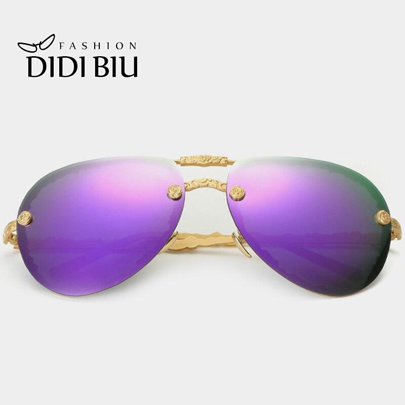 Surdimensionné style unique Lunettes flash Lens Sunglasses Mirror, Pink