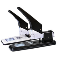 Deli Stapler Papeleria Y Oficina Office Manual Heavy Duty Stapler Paper Binding Machine Labor Saving Staplers Binding Supplies