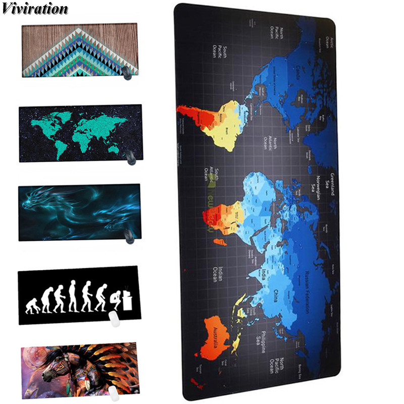 Viviration Soft 900x400mm Computer PC Notebook Mouse Mat Pad For Csgo/Dota/Overwatch Gaming Mousepad Rubber Brand New Mouse Mat