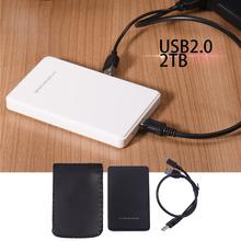 цена на USB 2.0 2.5 HDD Hard Drive Portable External Enclosure 2TB SATA Interface Hard Drive Disk Compatible For Desktop/Laptop
