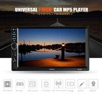 2 Din Car Radio 7inch Universal Car Multimedia Player HD Bluetooth MP5 Media Player TF FM 7018PLUS