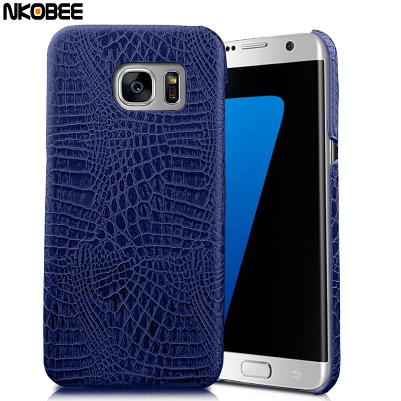 For Samsung Galaxy S7 Edge Case Original Leather 3D