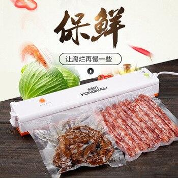 Portable Reseal Save Airtight Plastic Bag Food Vacuum Household Food Tea Vacuum Sealing Machine Sealer Packer Kitchen Tools