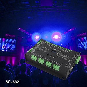 Image 3 - BC 632 DC5V 24V الجهد المستمر 32CH DMX/RDM فك سائق 3A * 32CH الناتج DMX512 rgbw تحكم ل RGB RGBW شرائط ليد مصباح