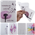 For iPad Air IPad 5 Cover Case Ultra Slim TPU Silicone Back Protect Skin Rubber Dandelion Case for Apple iPad5/ Air Gel Funda
