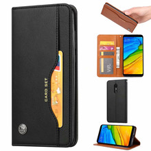 Voor Oneplus 6 t Case Cover Luxe Wallet PU Leer Phone Een Plus  1 + Flip Back