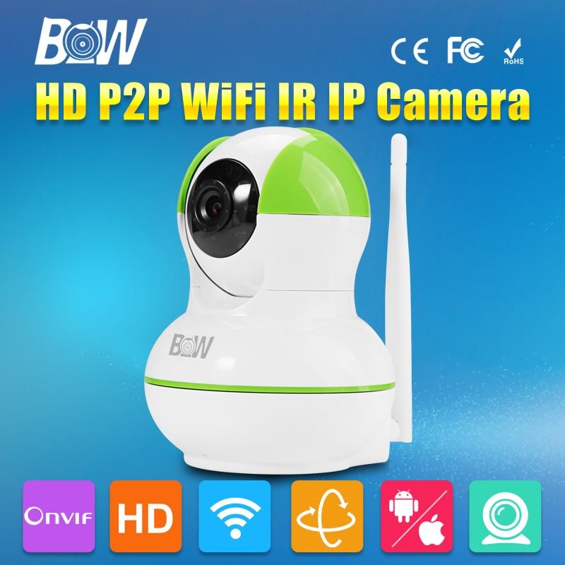 где купить Onvif Wireless IP Camera Wifi 1.0 Megapixel CCTV HD Wi Fi Surveillance Camera 720P 10m IR-Cut Night Vision Security Camera по лучшей цене
