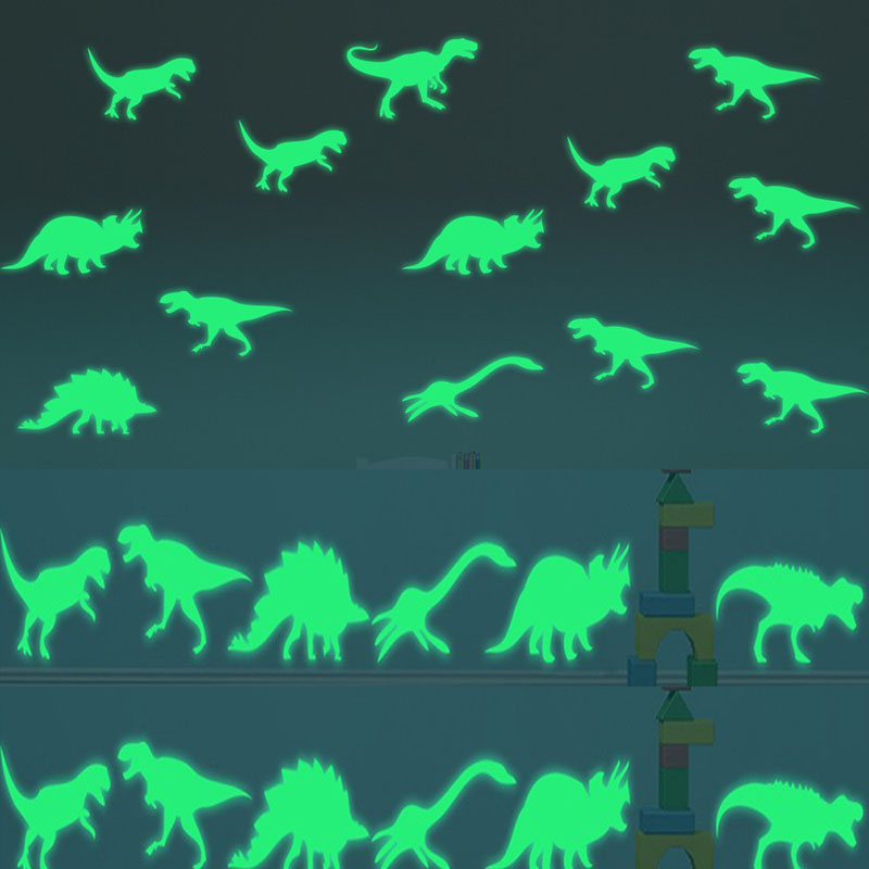 <font><b>Dinosaur</b></font> Jurassic World Figures Indominus Rex Luminous stickers <font><b>toy</b></font> Glow in the Dark Jurassic Park <font><b>Dinosaur</b></font> Luminous <font><b>Toys</b></font> Girls image