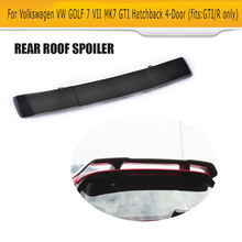Carbon Fiber Rear Tail Window Roof Trunk Spoiler Lip Wing for Volkswagen VW GOLF 7 Hatchback GTI And R 14-17 Notfit Standard